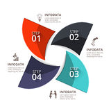 Vector infographic element. Stock Images