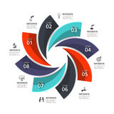 Vector infographic element. Royalty Free Stock Images