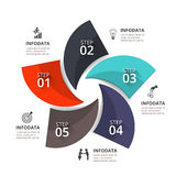 Vector infographic element. Stock Photo