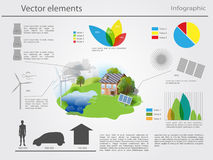 Vector infographic elements Royalty Free Stock Photography