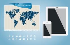 Vector infographic elements Stock Photo