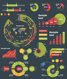 Vector infographic elements Stock Image