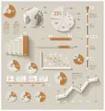 Vector infographic elements Royalty Free Stock Images