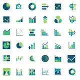 Vector Infographic Financial Diagrams & Reports. Suitable for icon Stock Images