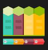 Vector of infographic. Illustration  abstract Stock Photo