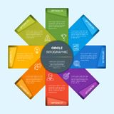 Vector infographic illustration 9 Royalty Free Stock Photo