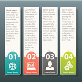 Vector Infographic label template design Stock Photo