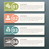 Vector Infographic label template design Stock Image