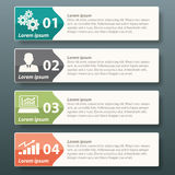 Vector Infographic label template Stock Images