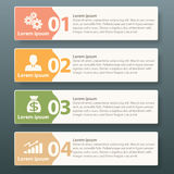 Vector Infographic label template Royalty Free Stock Images