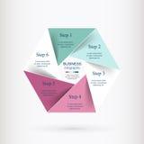 Vector infographic malplaatje Stock Fotografie