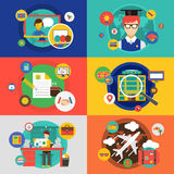 Vector infographic objects set. Startup, Travel Stock Photography