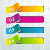 Vector infographic ontwerpelementen stock illustratie