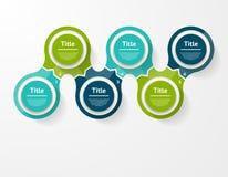 Vector infographic Schablone für Diagramm, Diagramm, Darstellung Stockfoto