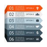 Vector infographic. Template for diagram, graph Stock Photos