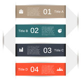 Vector infographic. Template for diagram, graph Royalty Free Stock Photo