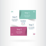Vector infographic template Royalty Free Stock Photos