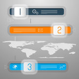 Vector Infographic Template Royalty Free Stock Photography