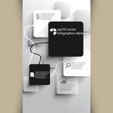Vector infographics elements background Royalty Free Stock Photo