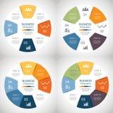 Vector infographics set Stock Image