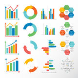 Vector infographics set Stock Image
