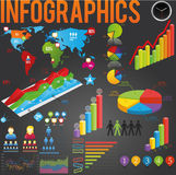 Vector infographics Stock Photography