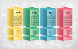 Free Vector Infographics Template Royalty Free Stock Photos - 39982888