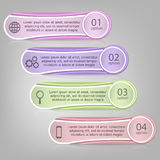 Vector infographics template Stock Photo