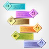 Vector infographics template Stock Image