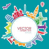 Vector Infographics Travel Royalty Free Stock Images