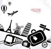 Vector Infographics Travel Stock Image