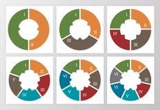 Vector infographicsreeks stock illustratie