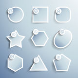 Vector inforgraphics template and design elements Royalty Free Stock Images