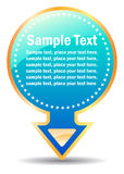 Vector information label Stock Photo