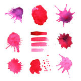 Vector ink blob collection Stock Image