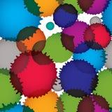Vector ink splash seamless pattern Stock Photography