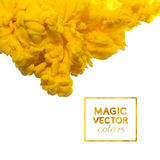 Vector Ink swirling in water Royalty Free Stock Images