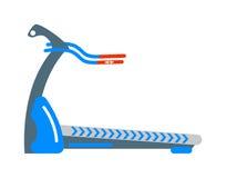 Vector inmóvil de la actividad de la salud de la máquina del gimnasio del deporte de la bicicleta estática Foto de archivo libre de regalías