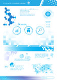 Vector innovation concept template design Stock Photography