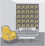 Vector interior sketch design Royalty Free Stock Photos