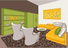 Vector interior sketch design Stock Photos