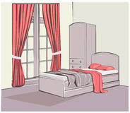 Vector interior sketch design Stock Image