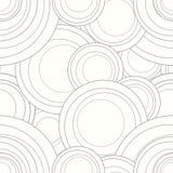 Vector interlocking circles repeat tile pattern. Stock Photos