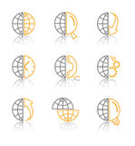 Vector internet icons Royalty Free Stock Photo