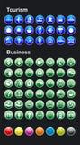 Vector Internet pictogrammen Royalty-vrije Stock Afbeeldingen