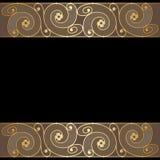 Vector invitation card. Royalty Free Stock Photo
