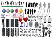 Vector inzameling Stock Afbeeldingen