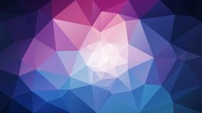 Free Vector Irregular Polygonal Background - Triangle Low Poly Pattern - Galaxy Blue Pink Purple Color Stock Photography - 110524232