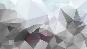Vector irregular polygonal background - triangle low poly pattern - light gray, soft blue, burgundy color. Vector abstract irregular polygonal background vector illustration