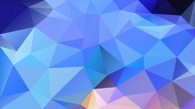Vector irregular polygonal background - triangle low poly pattern - light neon blue pink violet purple color. Vector abstract irregular polygonal background vector illustration